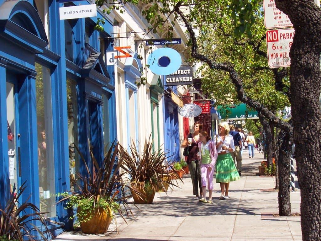 Fillmore Street em San Francisco
