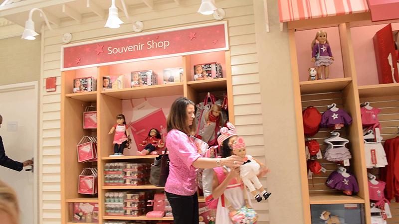 Loja de brinquedos American Girl Place em San Francisco