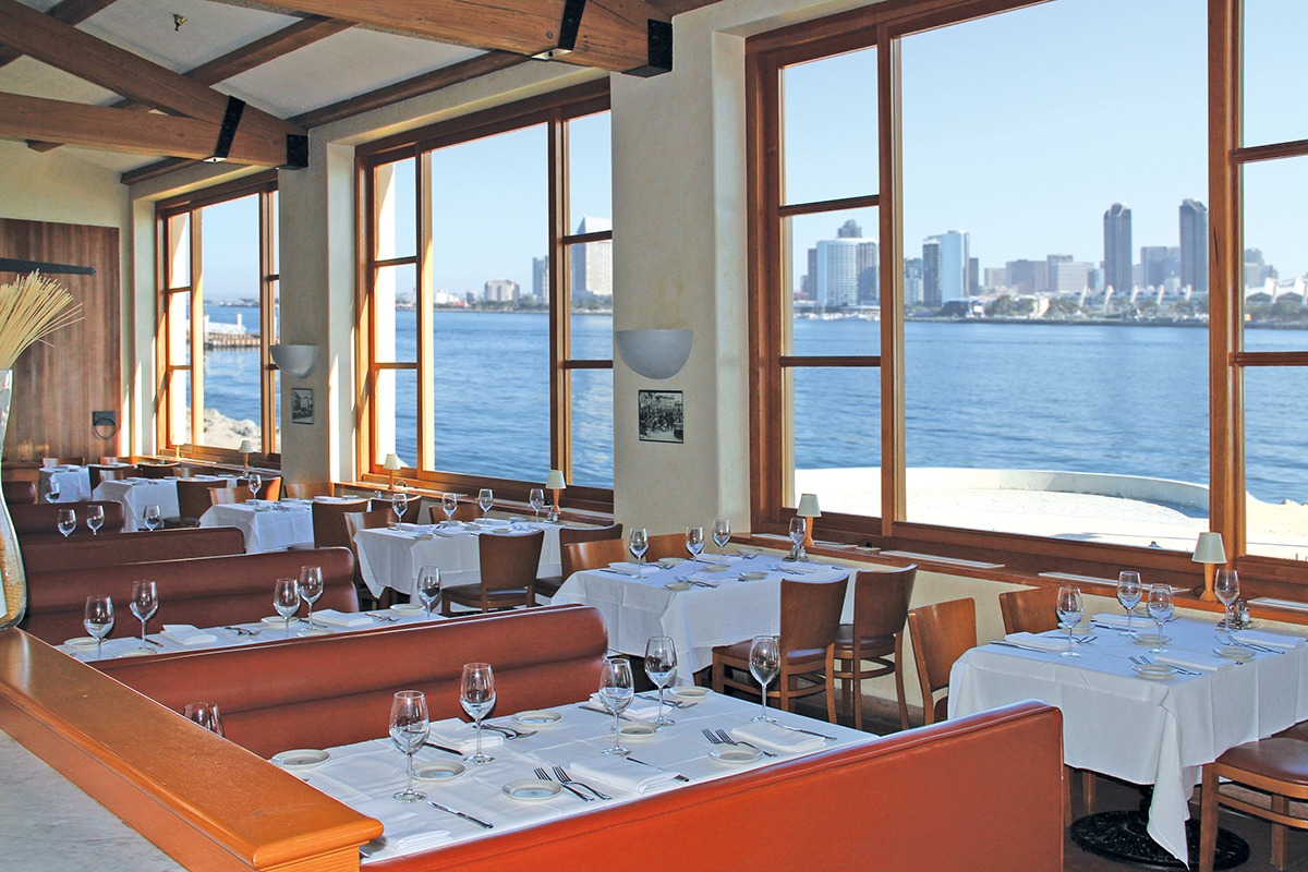 Restaurante Il Fornaio Cucina Italiana na Ilha de Coronado