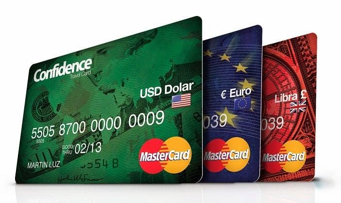 Cartão Pré Pago Confidence Travel Card