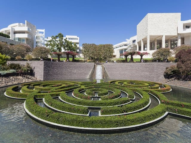 Getty Center em Los Angeles na Califórnia