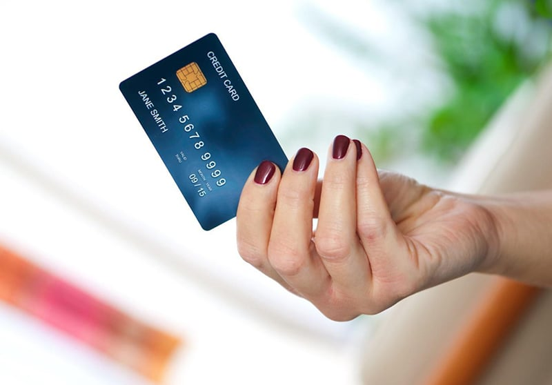Cartão de Crédito - uma das formas de pagamento na Califórnia