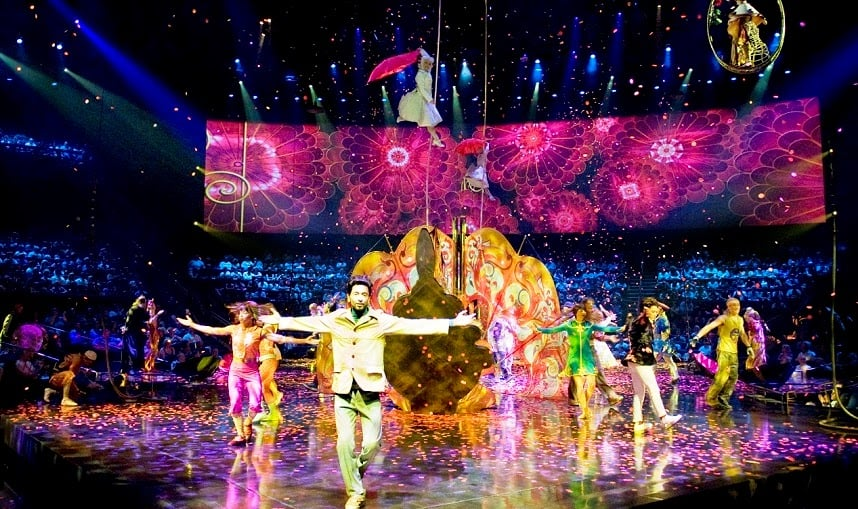 Ingressos para os Shows do Cirque du Soleil em Las Vegas