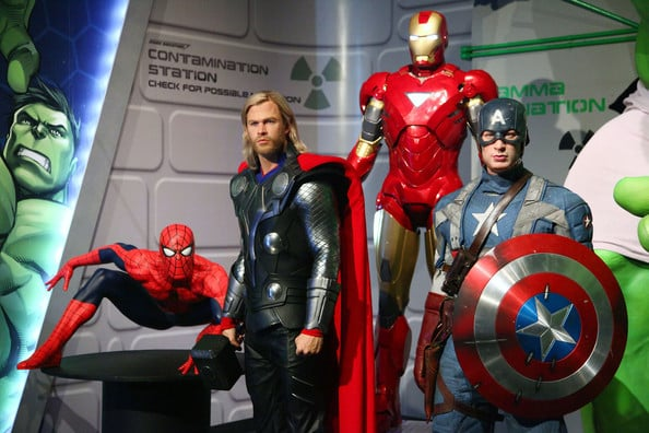 Madame Tussauds Hollywood em Los Angeles - Super Herois