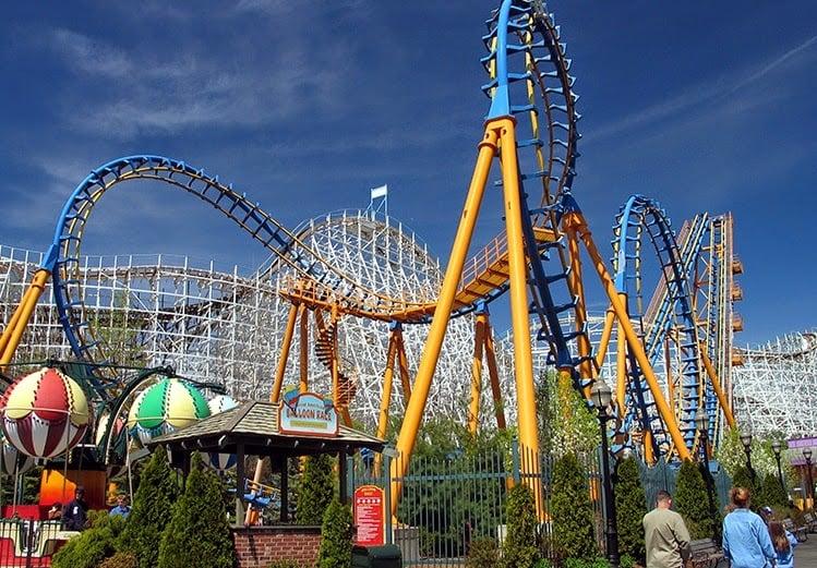 Parque Six Flags California Ingressos