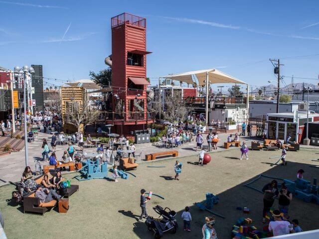 Downtown Container Park em Las Vegas