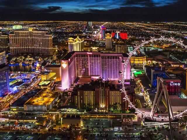Remessas internacionais para Las Vegas