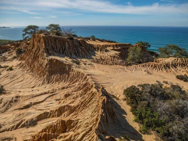 Torrey Pines State Natural Reserve em La Jolla em San Diego
