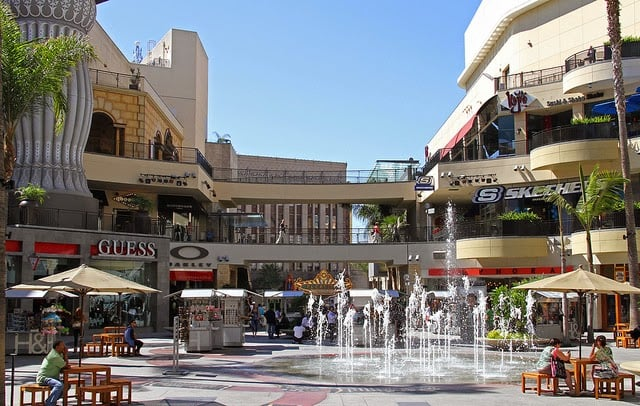 Shopping Hollywood Highland Center em Los Angeles