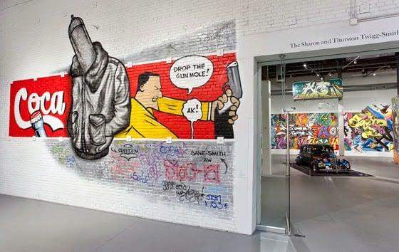 Obras no Museu de Arte Contemporânea de Los Angeles