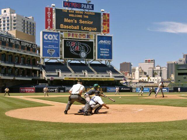 Estádio de beisebol PETCO Park em San Diego na Califórnia