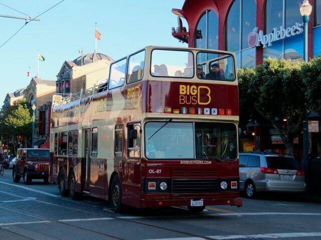 Transporte público em San Francisco na Califórnia