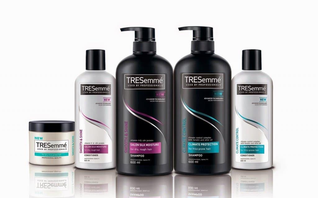 Shampoo e condicionador TRESemmé na Califórnia