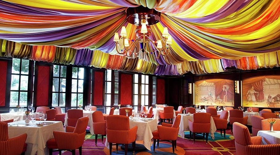 Restaurante Le Cirque em Las Vegas