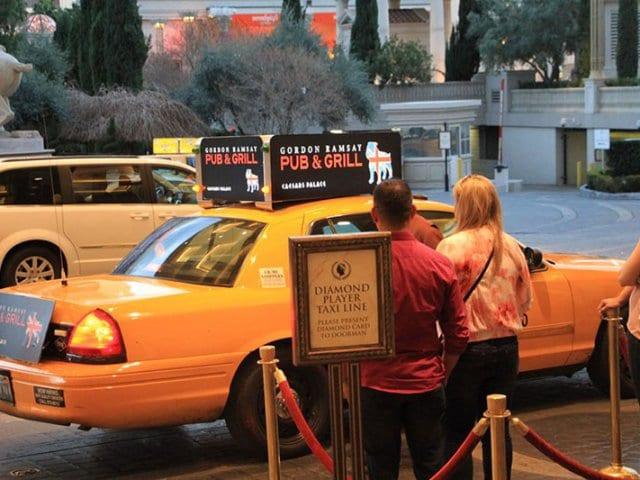 Dicas para usar táxi em Las Vegas