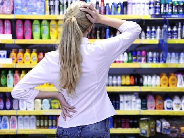Onde comprar shampoo e condicionador na Califórnia