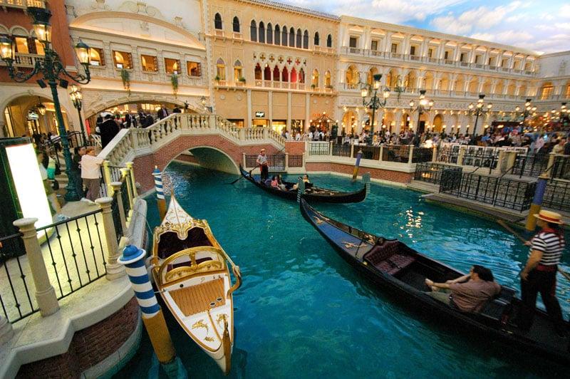 Gôndola Venetian Las Vegas