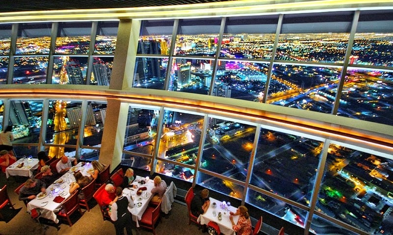 Top Of The World Restaurante Las Vegas