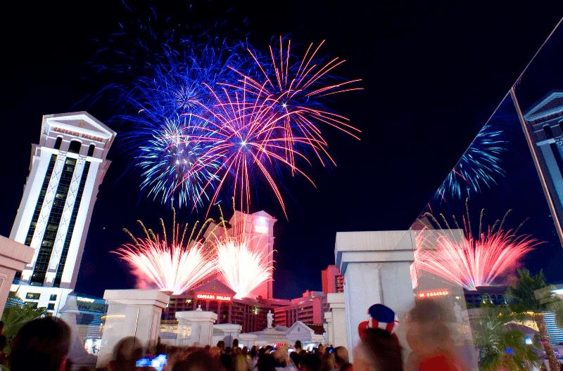 4 de Julho em Las Vegas
