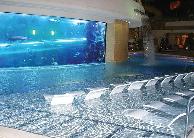 Festa na piscina The Tank em Las Vegas