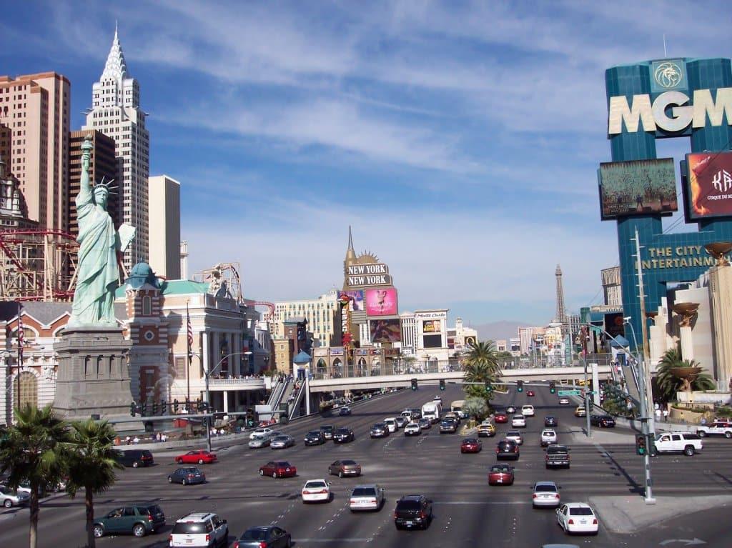 Las Vegas em Novembro