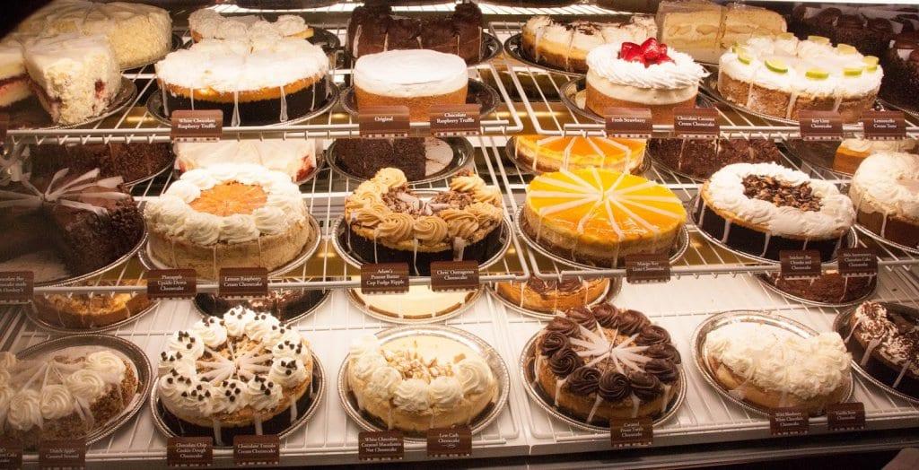 Restaurante Cheesecake Factory em Las Vegas