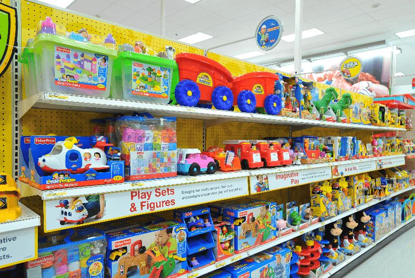 Lojas de brinquedos em Las Vegas