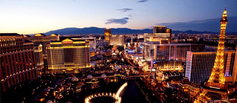 Las Vegas em Fevereiro