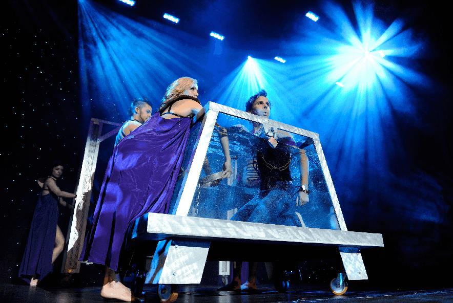 Show de mágica Illunsios em Las Vegas