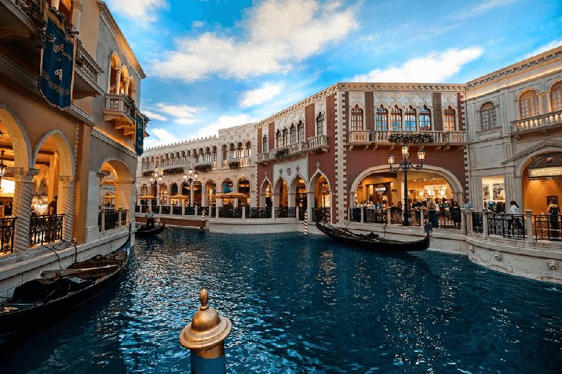 The Grand Canal Shoppes em Las Vegas