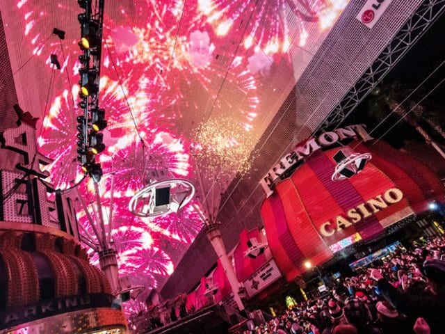 Festas de Réveillon de 2016 em Las Vegas