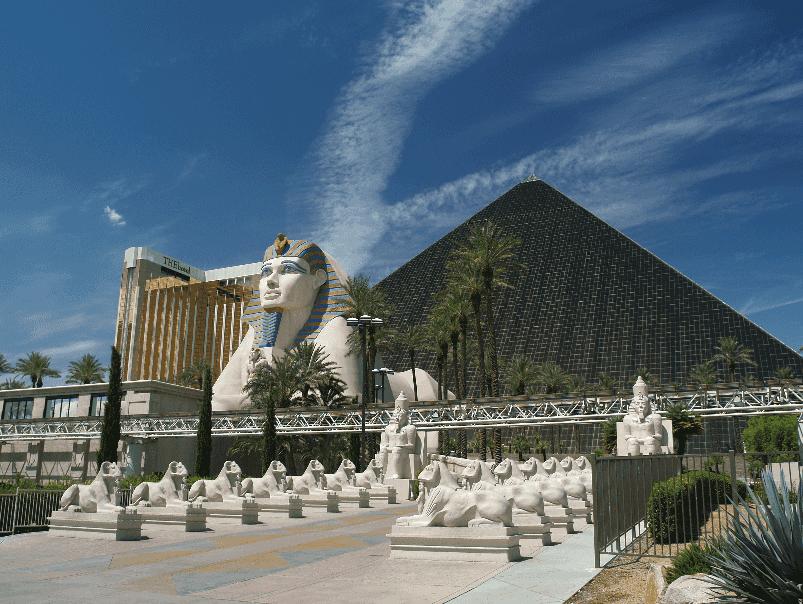 Esfinge do Luxor em Las Vegas