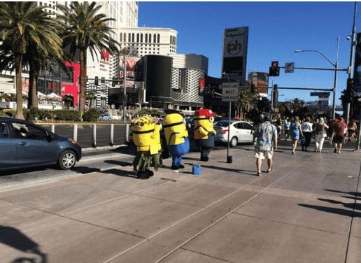 Transformers na Strip em Las Vegas