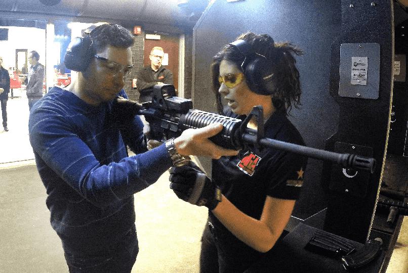 Machine Guns em Las Vegas