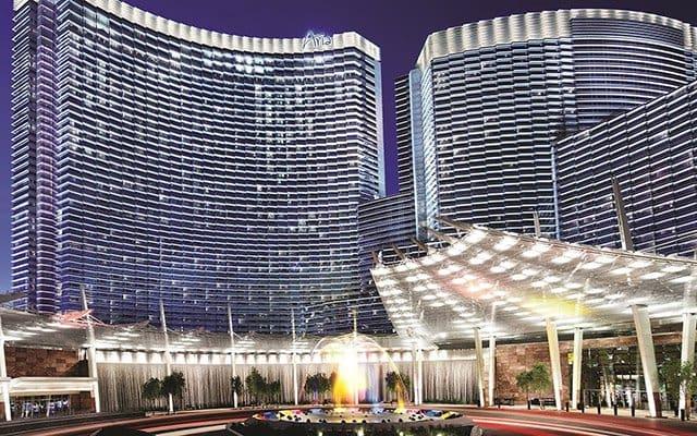 Hotel Cassino Aria em Las Vegas