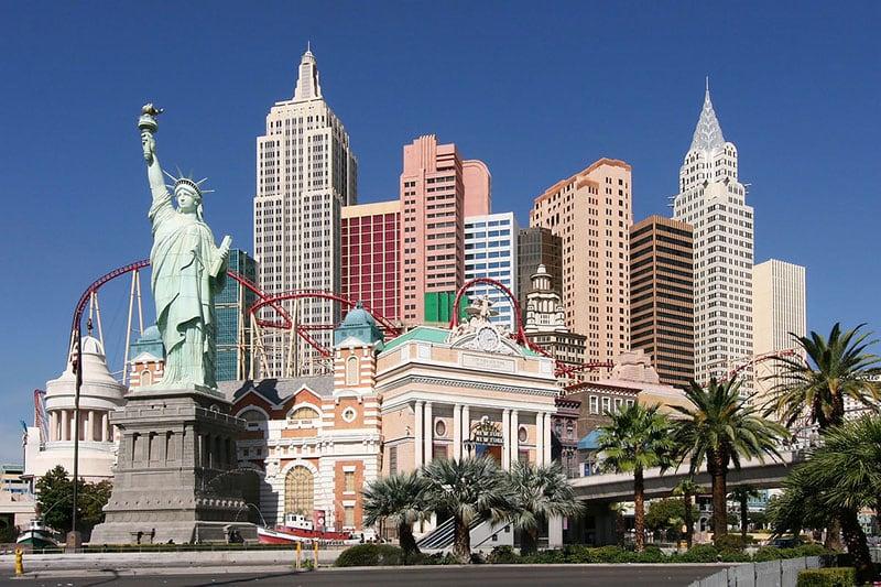 Strip de dia em Las Vegas