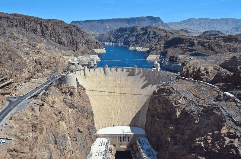 Hoover Dam em Las Vegas