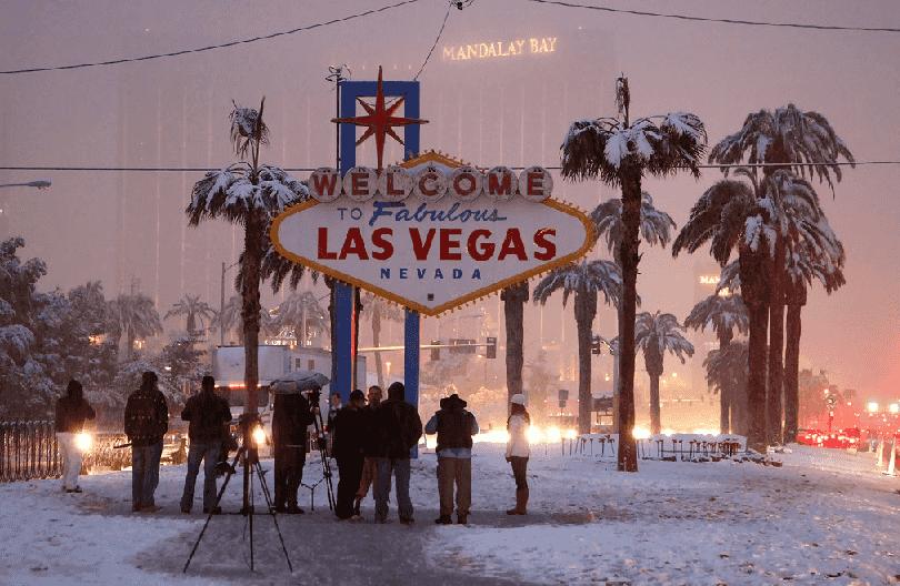 O que fazer no inverno em Las Vegas