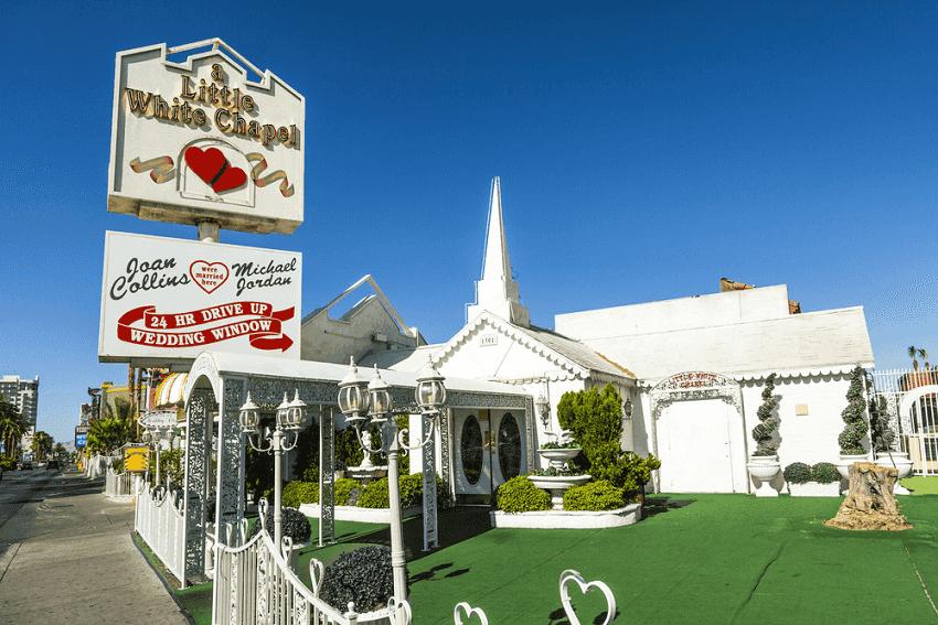 A Little White Wedding Chapel em Las Vegas