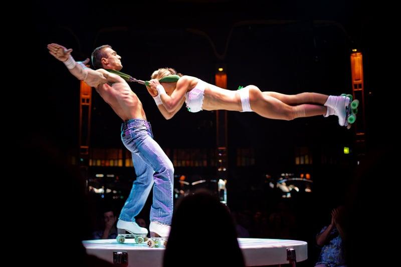 Show Absinthe em Las Vegas