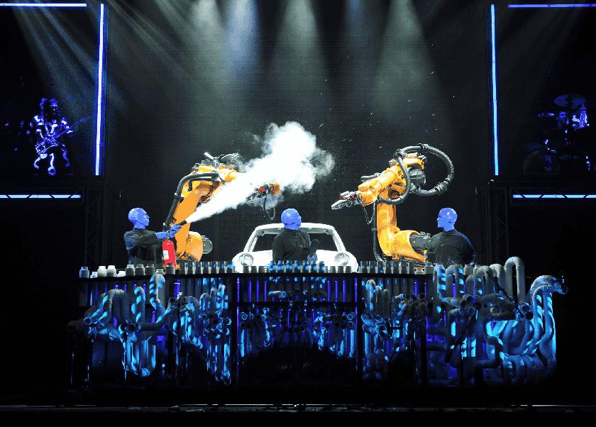 Show do Blue Man Group em Las Vegas