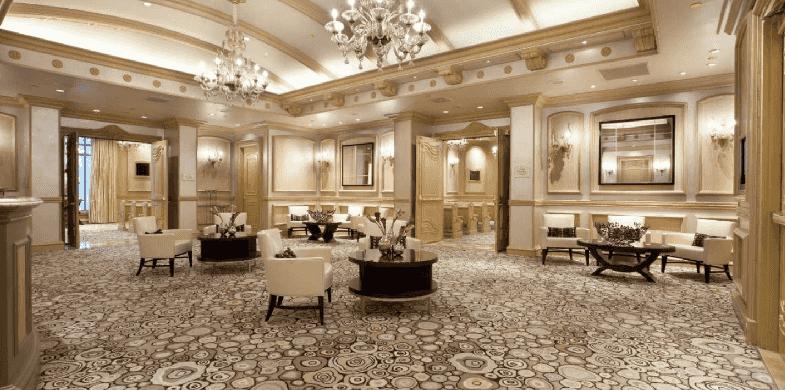 Capelas matrimoniais do Bellagio em Las Vegas