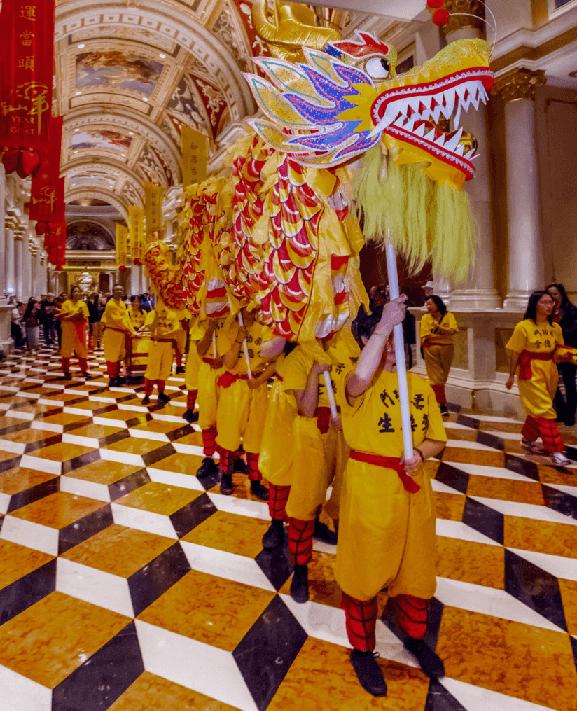 Eventos especiais no Venetian em Las Vegas