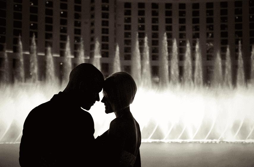 10 dicas para pacotes de lua de mel em Las Vegas: Dicas de fotos em casal em Las Vegas