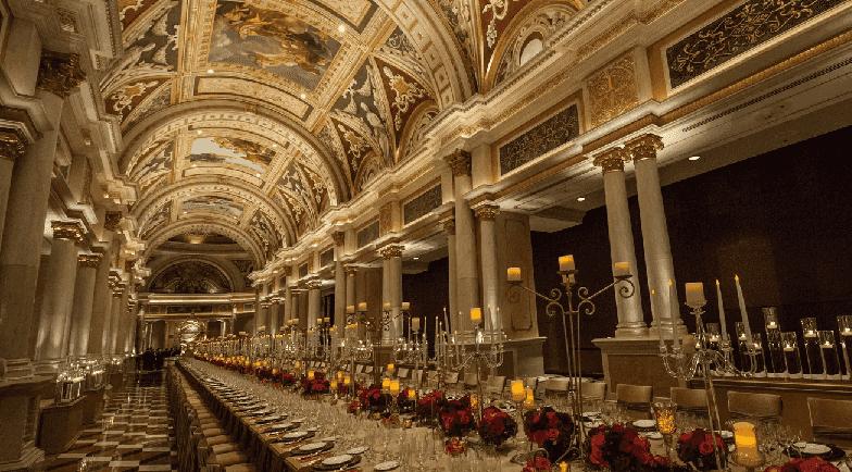 Grand Colonnade no Venetian em Las Vegas