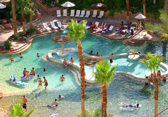Piscina do Hard Rock Hotel em Las Vegas
