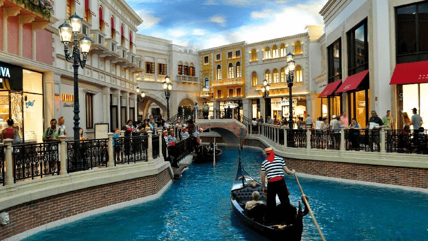Hotéis que lembram cidades na Strip em Las Vegas: Hotel e Cassino Venetian em Las Vegas