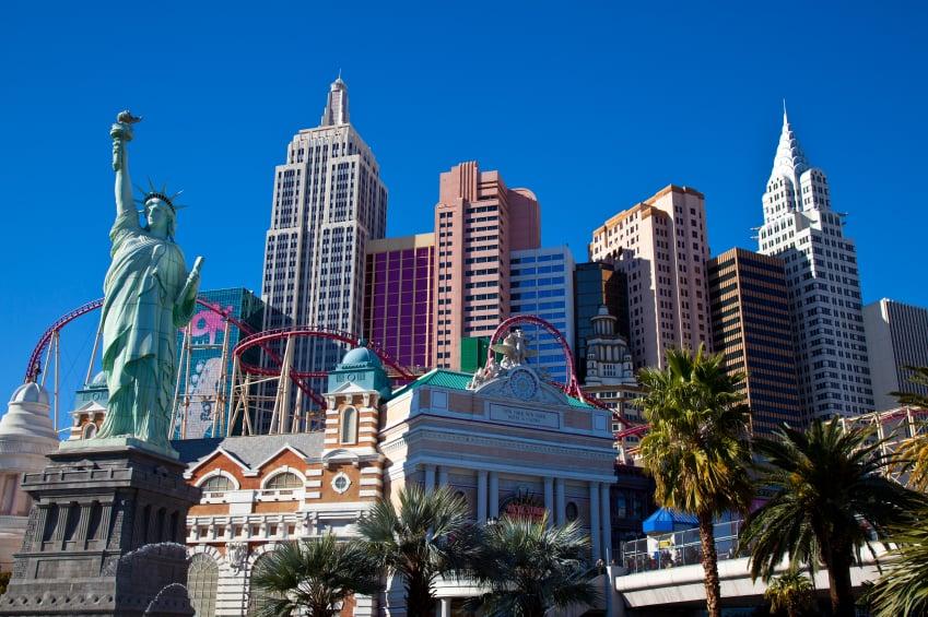 Hotéis que lembram cidades na Strip em Las Vegas: Hotel e Cassino New York-New York em Las Vegas