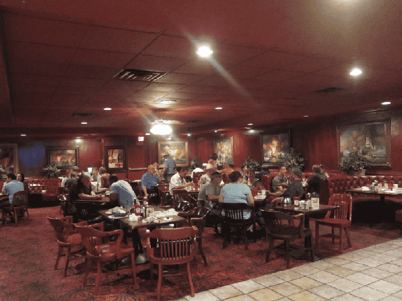 Restaurantes no Ellis Island em Las Vegas