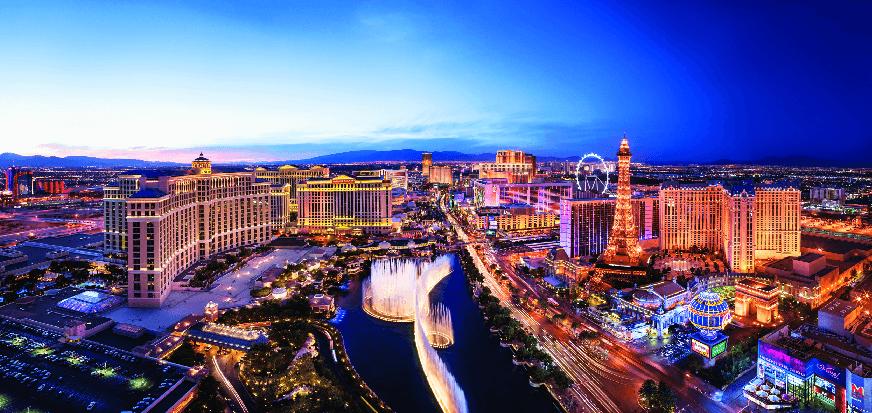 10 lugares para ver o movimento na Strip em Las Vegas